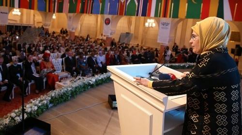 Emine Erdoğan, 25 Mayıs Afrika Günü kutlama törenine katıldı