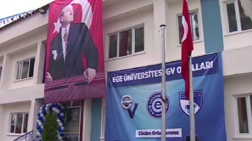 Ege Üniversitesi Güçlendirme Vakfı Okulları'nın 10'uncusu Ankara'da açıldı