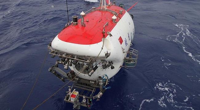 Çinin Mistik Deniz Ejderhası derin sularda