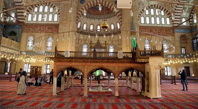 Selimiye Camii Ramazana hazır