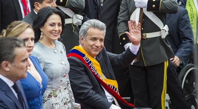 Ekvadorda Lenin Moreno dönemi başladı
