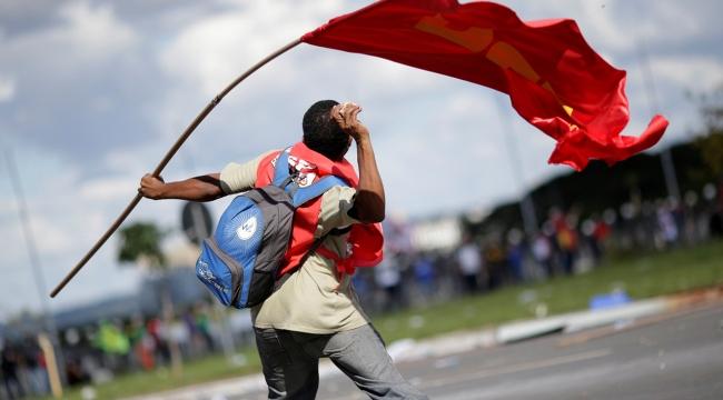 Brezilyada hükümet karşıtı protestolar
