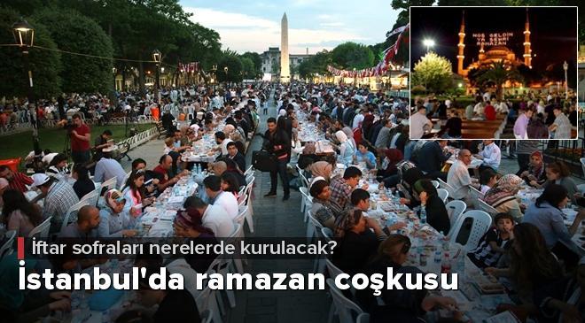 İstanbulda ramazan coşkusu
