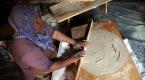 Ramazan yufkası Çukurovada imeceyle hazırlanıyor