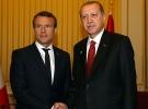Cumhurbaşkanı Erdoğan, Macron ile bir araya geldi
