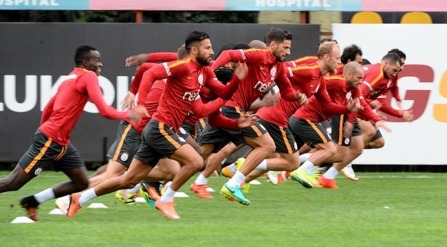 Galatasarayda Aytemiz Alanyaspor maçı hazırlıkları