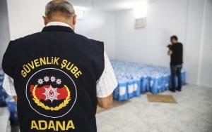 Adanada sahte deterjan operasyonu