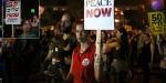 Filistinlilere yönelik uygulamalar İsrailde protesto edildi