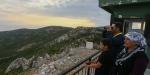 Yangın gözetleme kulesinde ramazan mesaisi