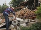 Manisa'daki depremin merkez üssünde çok sayıda ev hasar gördü
