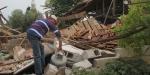 Manisadaki depremin merkez üssünde çok sayıda ev hasar gördü