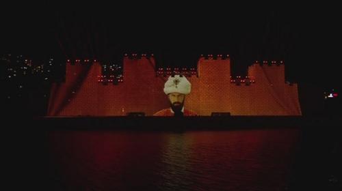 İstanbulun fethinin 564. Yılı Kutlamalarında 3 boyutlu gösteri