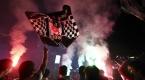 Beşiktaşın şampiyonluğu kutlanıyor