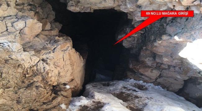 PKKnın 5 odalı sığınağı yerle bir edildi
