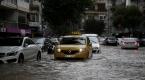 İzmirde sağnak yağış