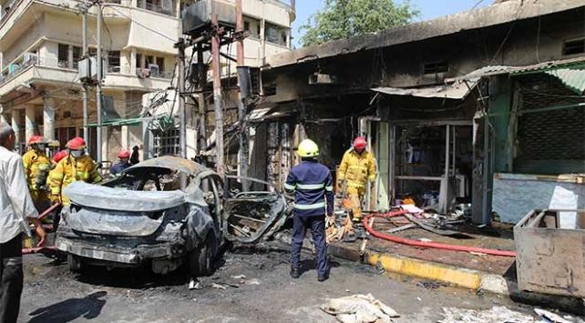 Bağdatta bombalı saldırı: 8 ölü