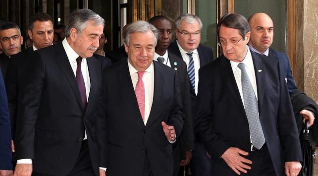 Guterres, Akıncı ve Anastasiadis 4 Haziranda New Yorkta görüşecek