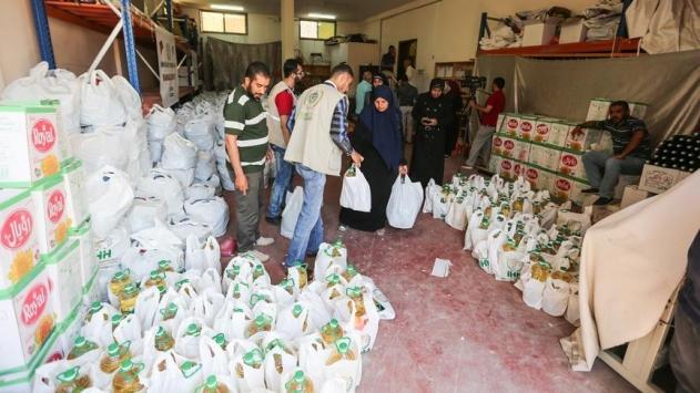 İHHdan Gazzeye Ramazan yardımı