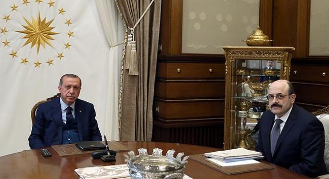 Cumhurbaşkanı Erdoğan YÖK Başkanı Saraçı kabul etti