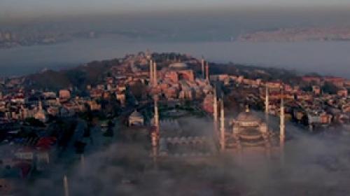Dronlar Türkiye'yi tanıtıyor