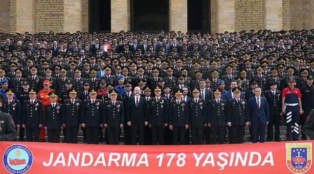 Jandarma Teşkilatı yeni yaşını kutluyor