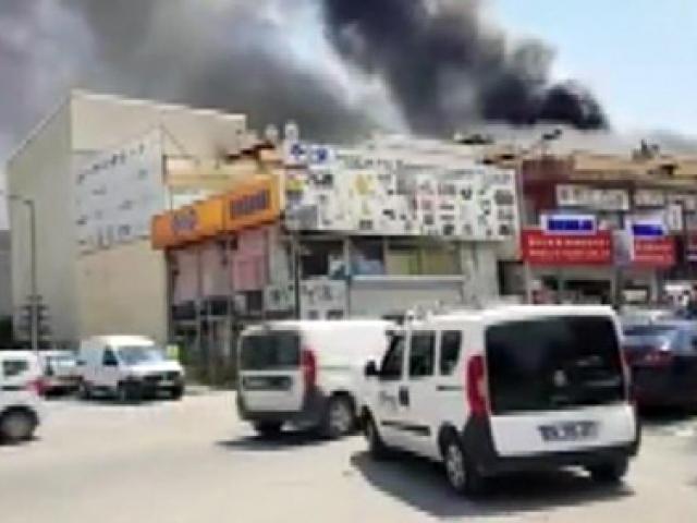 Ankara İvedik Organize Sanayi Bölgesinde patlama