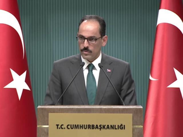 Cumhurbaşkanlığı Sözcüsü İbrahim Kalından Katar açıklaması
