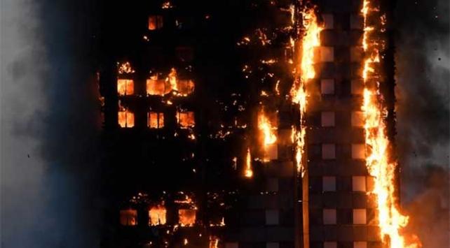 Londradaki yangında ölenlerin sayısı 17ye yükseldi