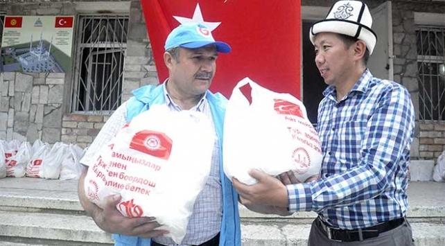 TDVden Kırgızistanda 300 aileye yardım