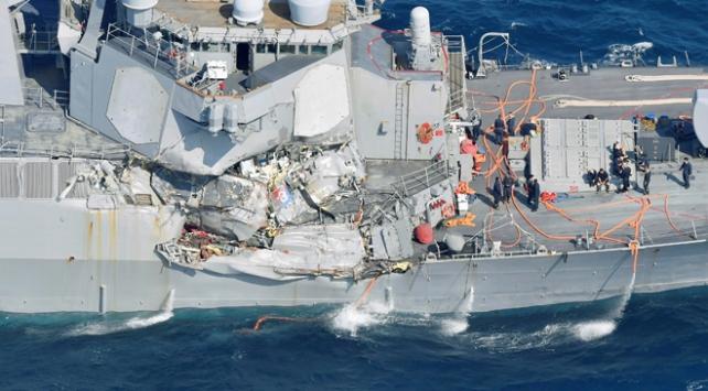 Kaybolan ABDli denizcilerin cesetlerine ulaşıldı