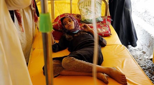 Yemende kolera salgınında ölenlerin sayısı bin 54e yükseldi