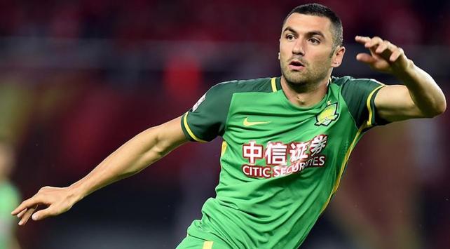 Beijing Guoanın Tianjin Teda karşısındaki ilk golü Burak Yılmazdan