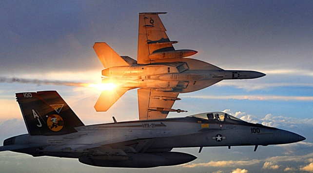 ABD Suriye rejimine ait savaş uçağını düşürdü