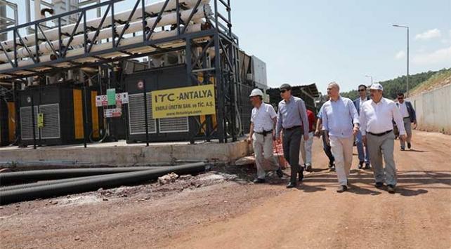 Antalyanın çöpü enerjiye dönüşecek