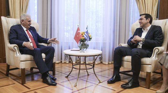 Atina, Başbakan Yıldırımı ağırlıyor