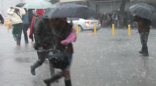 Fırtına ve yağış uyarısı