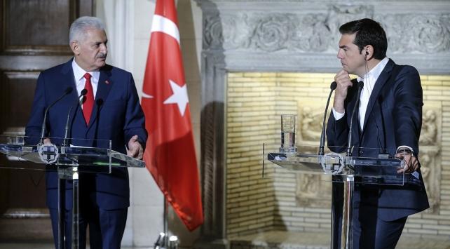 Başbakan Yıldırım: Darbeciler ilişkilerimize darbe vurmasın