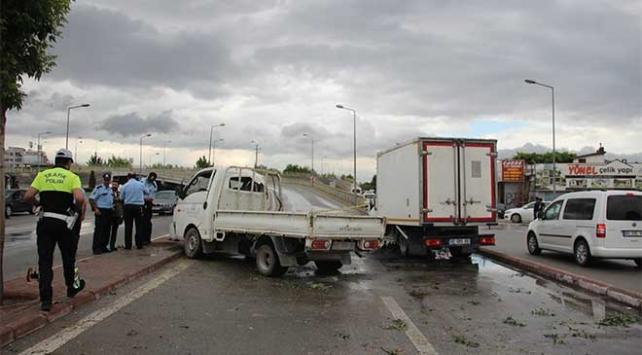 Denizli ve Konyada trafik kazası