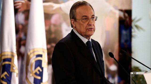 Real Madridde Perez yeniden başkan