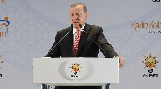 Cumhurbaşkanı Erdoğan: Yollar yürümekle aşınmaz
