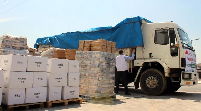 Türkiye Gazzeye bayramda 10 bin tonluk insani yardım yapacak
