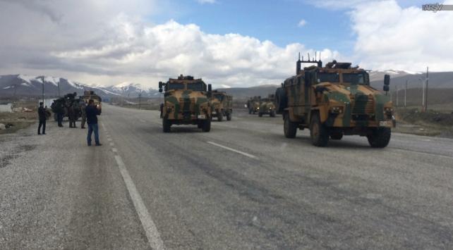 Askeri konvoya saldırı düzenlendi
