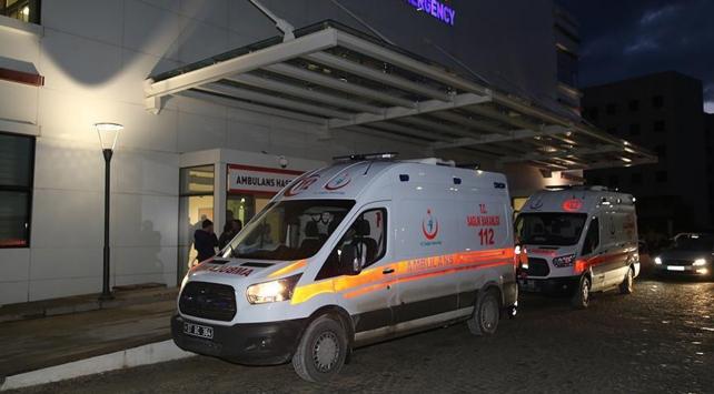Kastamonuda rahatsızlanan 8 asker hastaneye kaldırıldı