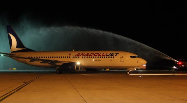 AnadoluJetin Erzincan-İstanbul uçuşları başladı