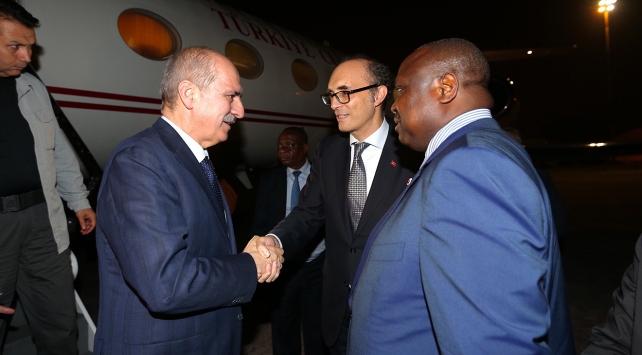 Başbakan Yardımcısı Kurtulmuş, Kongo Cumhuriyetinde