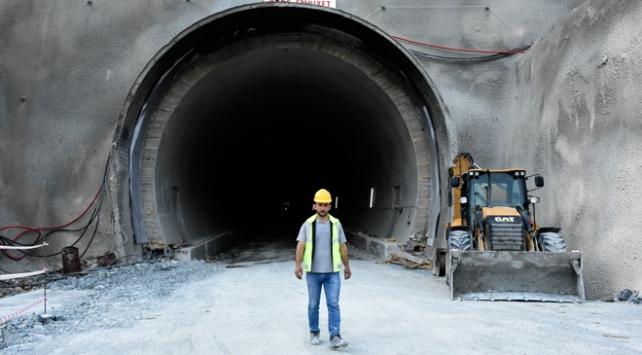 Yeni Zigana Tünelinin 6 kilometresi kazıldı