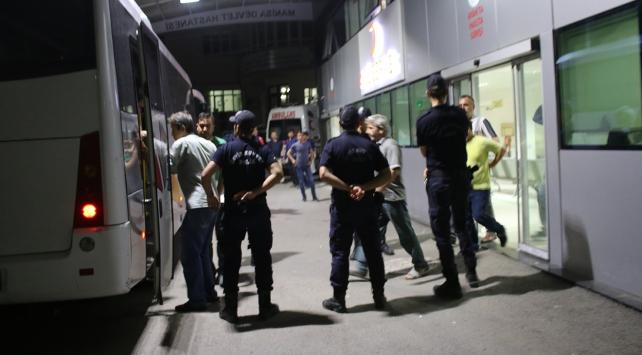 Gözaltına alınan 24 kişinin sorgusu sürüyor