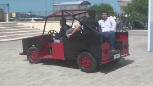 Türk mucitler 2 ayda araç tasarladı