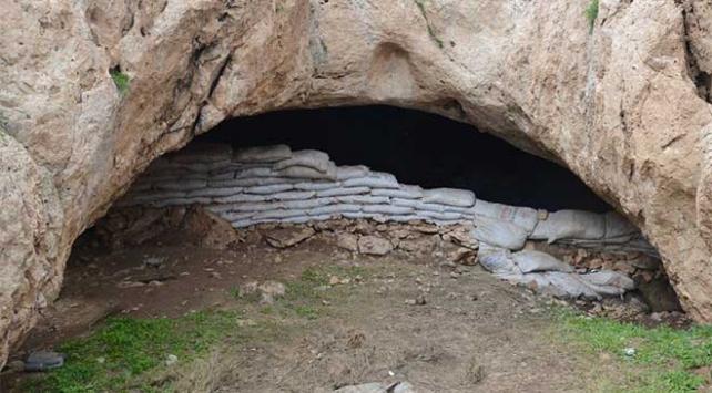 Siirtte teröristlerin kullandığı 38 mağara bulundu