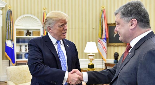 Trump, Poroşenko ile görüştü